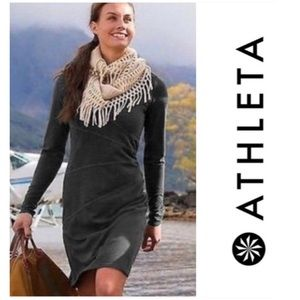 Athleta Sunburst Organic Cotton Dress